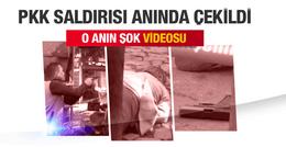 Tahir Elçi öldürüldü PKK saldırısının şok videosu
