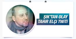Ahmet Şık'tan Tahir Elçi'yle ilgili olay twit