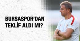 Hamza Hamzaoğlu Bursaspor'dan teklif aldı mı?