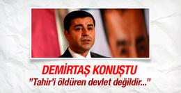 Selahattin Demirtaş'tan Tahir Elçi açıklaması