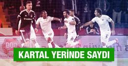 Beşiktaş - Akhisar Belediyespor maçı sonucu ve özeti