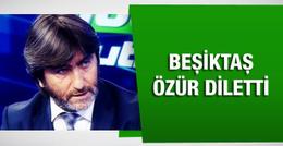 Beşiktaş Rıdvan Dilmen'e özür diletti!