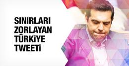 Çipras'tan diplomasi sınırlarını zorlayan Türkiye tweeti