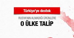 Rusya'nın Türkiye'den almadığı ürünlere o ülke talip oldu