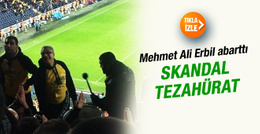 Mehmet Ali Erbil'den skandal tezahürat