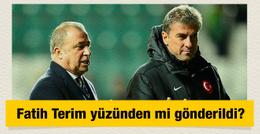 Hamza Hamzaoğlu Terim yüzünden mi gönderildi?