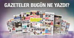 Gazete manşetleri 2 Aralık 2015