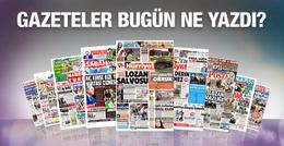 Gazete manşetleri 1 Ekim 2016 bugünkü gazeteler