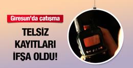 Giresun'da PKK ile çatışma! Telsiz kayıtları ifşaa oldu