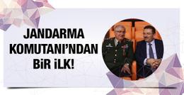 Jandarma Genel Komutanı'ndan bir ilk!