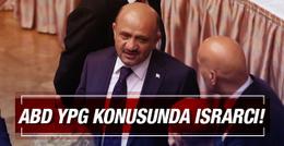 'ABD, Rakka için YPG konusunda ısrarcı'