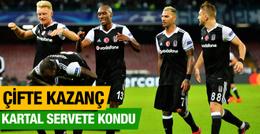 Beşiktaş hem üç puan aldı hem kasasını doldurdu