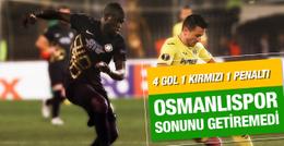 Osmanlıspor Villarreal maçı sonucu ve özeti