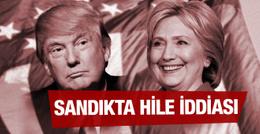 Donald Trump'tan seçimlerde hile iddiası