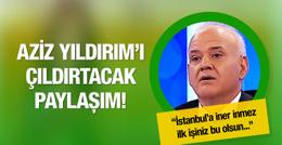 Ahmet Çakar'dan olay Aziz Yıldırım paylaşımı