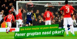 Fenerbahçe'nin grubunda son durum