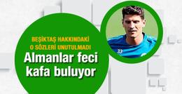 Beşiktaş 0 çekmemek için Mario Gomez'i gönderdi