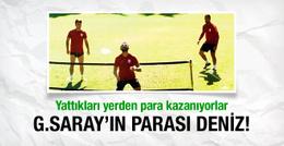Galatasaray'da yatarak para kazanan üç isim