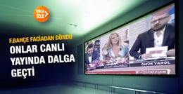 Fenerbahçe faciadan döndü onlar canlı yayında dalga geçti