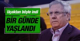 Fenerbahçe üzgün döndü Aziz Yıldırım kahroldu!