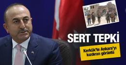 Çavuşoğlu'ndan çok net PKK'lılar Kerkük'te açıklaması
