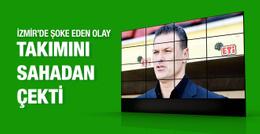 Göztepe Eskişehirspor maçı yarıda kaldı
