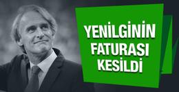 Galatasaray'da fatura Riekerink'e kesildi!