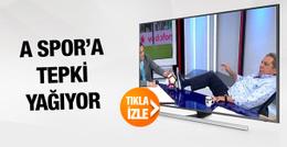 A Spor Beşiktaş taraftarını çıldırttı