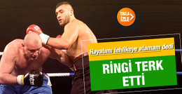 Polonyalı boksör Türk rakibinden korkup maçtan çekildi
