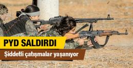PYD ÖSO'ya gece saldırdı şiddetli çatışmalar yaşanıyor