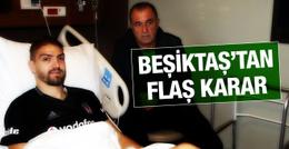 Beşiktaş Caner Erkin'in bonservisini alıyor