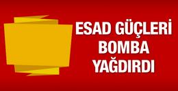 TSK'dan son dakika Fırat Kalkanı açıklaması Suriye bomba yağdırdı