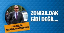 Adana'ya atanan emniyet müdürünün ilk açıklaması olay