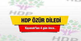 HDP özür diledi sorumluluklarımızı yerine getiremedik
