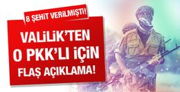 Teslim olan PKK'lı o eyleme katılmış!