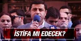Selahattin Demirtaş'tan istifa açıklaması