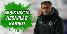 Beşiktaş'ta hesaplar karıştı