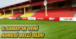 Galatasaray tesislerinin adresi belli oldu