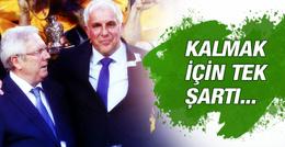 Obradovic'ten Aziz Yıldırım'a şartlı destek