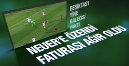 Beşiktaşlı Fabri'den inanılmaz hata