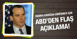 ABD: Obama Erdoğan görüşmesi çok yapıcıydı!