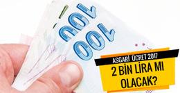 Asgari ücret 2017 DİSK'ten öneri geldi
