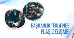 AK Parti'nin başkanlık teklifi imzaya açıldı!