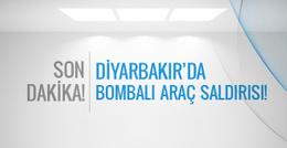 Diyarbakır'da bombalı araç saldırısı!