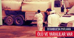 İstanbul Büyükçekmece'de son dakika patlama