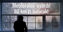 Meteorolojiden şiddetli lodos uyarısı