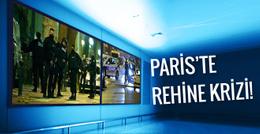 Paris'te silahlı baskın! 7 kişi rehin!