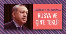Erdoğan'dan flaş dolar ve faiz açıklaması