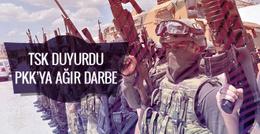 TSK'dan PKK'ya darbe üstüne darbe