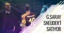 Galatasaray Sneijder'i satıyor!